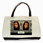 Black and Silver tote - Classic Tote Bag