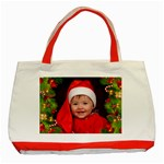 Christmas Red Tote - Classic Tote Bag (Red)