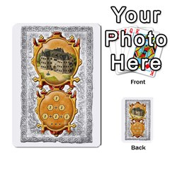 Notre Dame, Cards And Messages For 3 More Players By Peter Dahlstrom   Multi Purpose Cards (rectangle)   6m5kprm5rmdn   Www Artscow Com Front 1