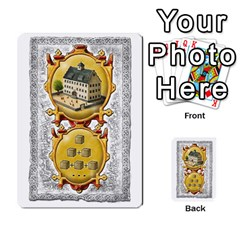 Notre Dame, Cards And Messages For 3 More Players By Peter Dahlstrom   Multi Purpose Cards (rectangle)   6m5kprm5rmdn   Www Artscow Com Front 7