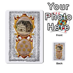 Notre Dame, Cards And Messages For 3 More Players By Peter Dahlstrom   Multi Purpose Cards (rectangle)   6m5kprm5rmdn   Www Artscow Com Front 8
