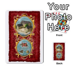 Notre Dame, Cards And Messages For 3 More Players By Peter Dahlstrom   Multi Purpose Cards (rectangle)   6m5kprm5rmdn   Www Artscow Com Front 14