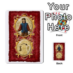 Notre Dame, Cards And Messages For 3 More Players By Peter Dahlstrom   Multi Purpose Cards (rectangle)   6m5kprm5rmdn   Www Artscow Com Front 15