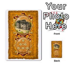 Notre Dame, Cards And Messages For 3 More Players By Peter Dahlstrom   Multi Purpose Cards (rectangle)   6m5kprm5rmdn   Www Artscow Com Front 19