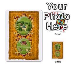 Notre Dame, Cards And Messages For 3 More Players By Peter Dahlstrom   Multi Purpose Cards (rectangle)   6m5kprm5rmdn   Www Artscow Com Front 20