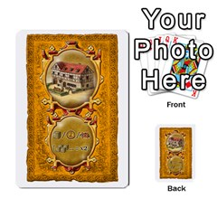 Notre Dame, Cards And Messages For 3 More Players By Peter Dahlstrom   Multi Purpose Cards (rectangle)   6m5kprm5rmdn   Www Artscow Com Front 22