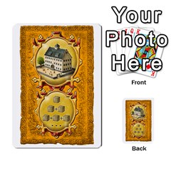 Notre Dame, Cards And Messages For 3 More Players By Peter Dahlstrom   Multi Purpose Cards (rectangle)   6m5kprm5rmdn   Www Artscow Com Front 25