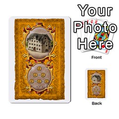 Notre Dame, Cards And Messages For 3 More Players By Peter Dahlstrom   Multi Purpose Cards (rectangle)   6m5kprm5rmdn   Www Artscow Com Front 27