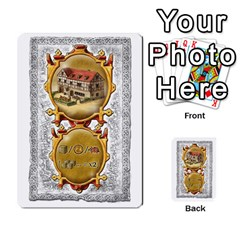 Notre Dame, Cards And Messages For 3 More Players By Peter Dahlstrom   Multi Purpose Cards (rectangle)   6m5kprm5rmdn   Www Artscow Com Front 4