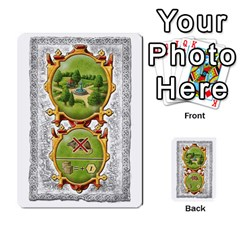Notre Dame, Cards And Messages For 3 More Players By Peter Dahlstrom   Multi Purpose Cards (rectangle)   6m5kprm5rmdn   Www Artscow Com Front 35