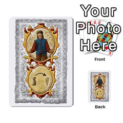 Notre Dame, Cards And Messages For 3 More Players By Peter Dahlstrom   Multi Purpose Cards (rectangle)   6m5kprm5rmdn   Www Artscow Com Front 39