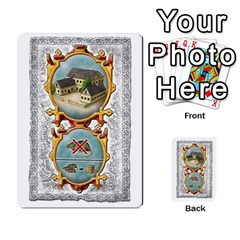 Notre Dame, Cards And Messages For 3 More Players By Peter Dahlstrom   Multi Purpose Cards (rectangle)   6m5kprm5rmdn   Www Artscow Com Front 5