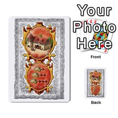 Notre Dame, Cards And Messages For 3 More Players By Peter Dahlstrom   Multi Purpose Cards (rectangle)   6m5kprm5rmdn   Www Artscow Com Front 42