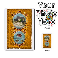 Notre Dame, Cards And Messages For 3 More Players By Peter Dahlstrom   Multi Purpose Cards (rectangle)   6m5kprm5rmdn   Www Artscow Com Front 47
