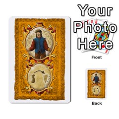 Notre Dame, Cards And Messages For 3 More Players By Peter Dahlstrom   Multi Purpose Cards (rectangle)   6m5kprm5rmdn   Www Artscow Com Front 48