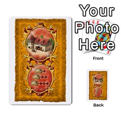 Notre Dame, Cards And Messages For 3 More Players By Peter Dahlstrom   Multi Purpose Cards (rectangle)   6m5kprm5rmdn   Www Artscow Com Front 50