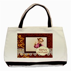 Christmas By Joely   Basic Tote Bag (two Sides)   Pd1hlxe7foal   Www Artscow Com Front