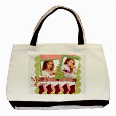 Christmas By Joely   Basic Tote Bag (two Sides)   Pu4deufrhqix   Www Artscow Com Front