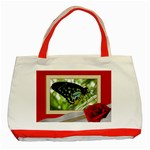 Framed Classic Red Tote - Classic Tote Bag (Red)