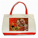 Celebration Red Tote - Classic Tote Bag (Red)