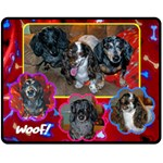 Janines Puppies - Fleece Blanket (Medium)