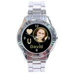 Gold Love u Analogue watch - Stainless Steel Analogue Watch