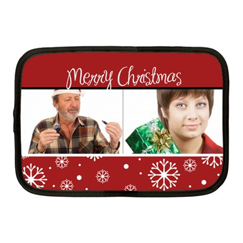Christmas  By May   Netbook Case (medium)   Fzbxie4vz27s   Www Artscow Com Front