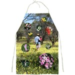 wildflower apron 3 - Full Print Apron