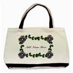 Classic Tote Bag: Vines and Flowers - Basic Tote Bag