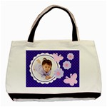 Purple Jenna Tote Bag - Classic Tote Bag (Two Sides)