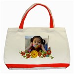 Classic Tote Bag: Summer Flowers2 - Classic Tote Bag (Red)