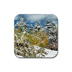 Rubber Square Coaster (4 pack)