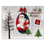 Christmas Tree Rectangle Jigsaw Puzzle - Jigsaw Puzzle (Rectangular)