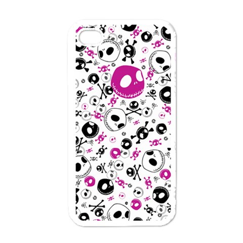 Jack Iphone 4s By Nikole   Iphone 4 Case (white)   Ztbv2xz4hn0e   Www Artscow Com Front