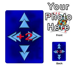 Jellydrifters1 By Pierre   Multi Purpose Cards (rectangle)   Ij0v9z2zgpad   Www Artscow Com Front 54