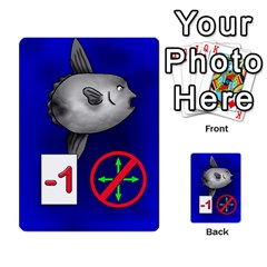 Jellydrifters1 By Pierre   Multi Purpose Cards (rectangle)   Ij0v9z2zgpad   Www Artscow Com Front 24