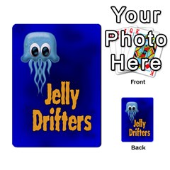 Jellydrifters1 By Pierre   Multi Purpose Cards (rectangle)   Ij0v9z2zgpad   Www Artscow Com Back 45