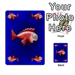 Jellydrifters1 By Pierre   Multi Purpose Cards (rectangle)   Ij0v9z2zgpad   Www Artscow Com Front 49