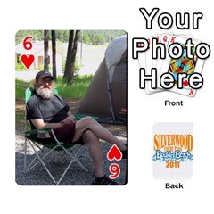 Updated Silverwood By Ted   Playing Cards 54 Designs (rectangle)   7alhvvdrwnqa   Www Artscow Com Front - Heart6