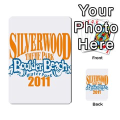 Updated Silverwood By Ted   Playing Cards 54 Designs (rectangle)   7alhvvdrwnqa   Www Artscow Com Back