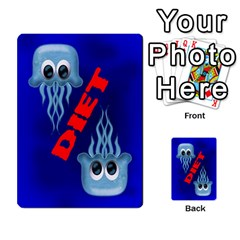 Jellydrifters2 By Pierre   Multi Purpose Cards (rectangle)   J7h8lnf09cvr   Www Artscow Com Back 9