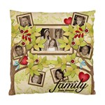 Cushion Case-Family Tree - Standard Cushion Case (Two Sides)