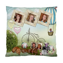 Cushion Case Outdoor Family  By Kellie Simpson   Standard Cushion Case (two Sides)   Dl8bec8zf5xf   Www Artscow Com Front