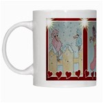 Pink Bird Christmas mug - White Mug