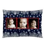 Snowstorm Christmas Pillow - Pillow Case