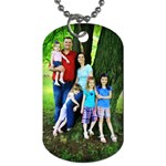 Parkinson tags - Dog Tag (Two Sides)