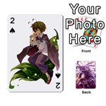 Touhou Playing Card Deck Reisen Back - Playing Cards 54 Designs