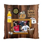 Man Cave Cushion Case (1 Sided) - Cushion Case (One Side)