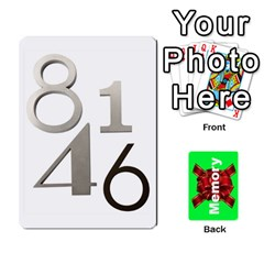 Memory By Peter Cobcroft   Playing Cards 54 Designs (rectangle)   Ike3wcqsj6q2   Www Artscow Com Front - Club4