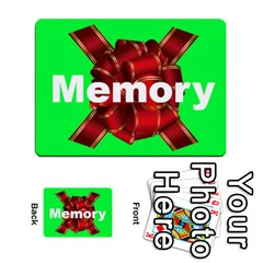 Memory By Peter Cobcroft   Playing Cards 54 Designs (rectangle)   Ike3wcqsj6q2   Www Artscow Com Back